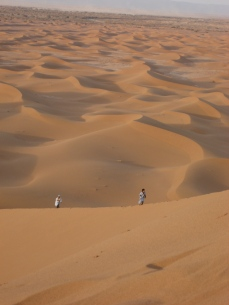 la dune hurlante... Ez-Zahhar