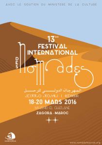 affiche festival nomades